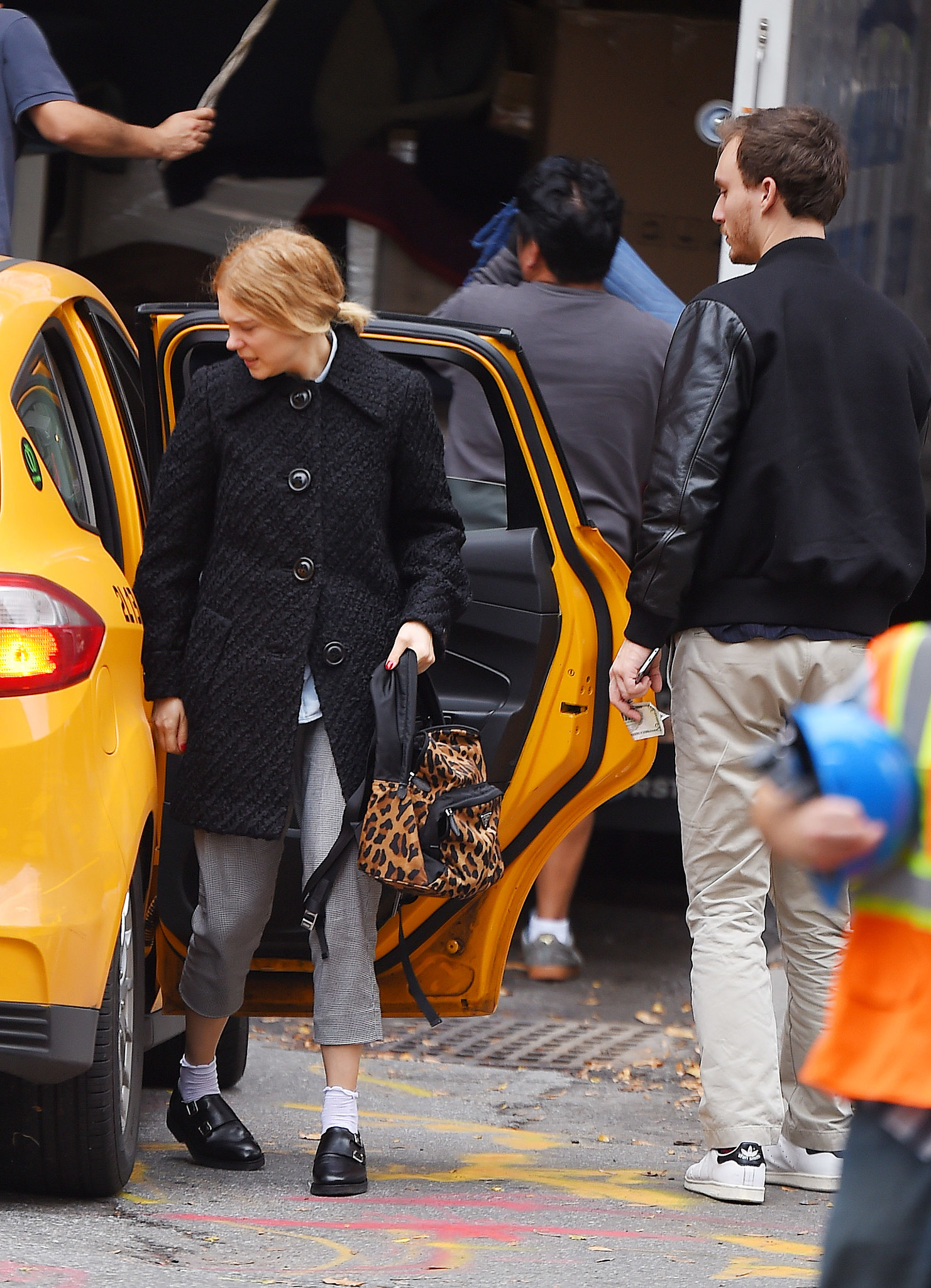 lea seydoux and boyfriend andre meyer seen out in nyc 11 6