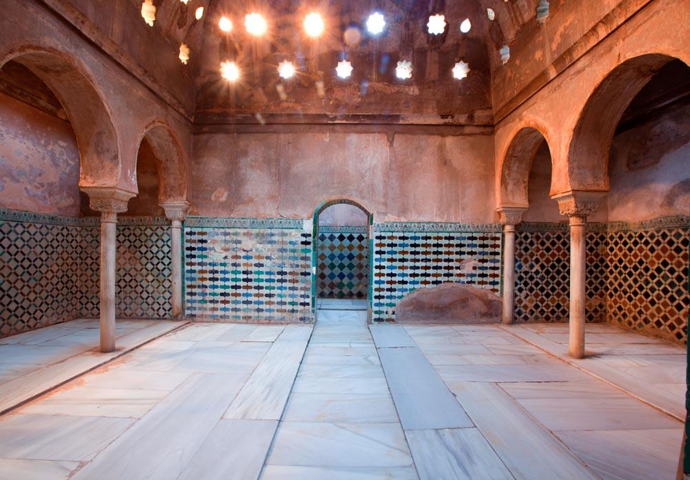 Ba os hammam comares 4 ba o de comares alhambra flickr - Banos arabes palacio de comares ...