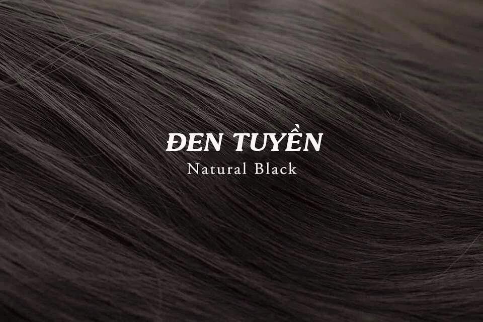 Mầu tóc đen tuyền
