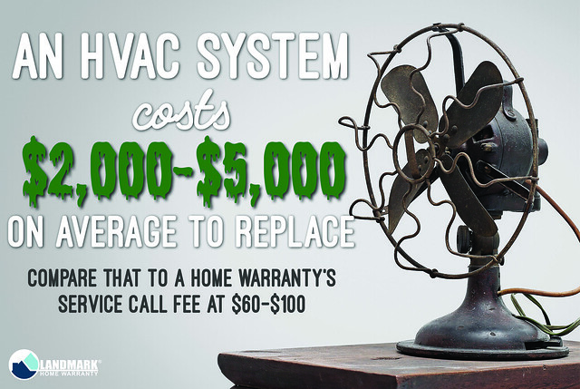 hvac system covered by a home warranty