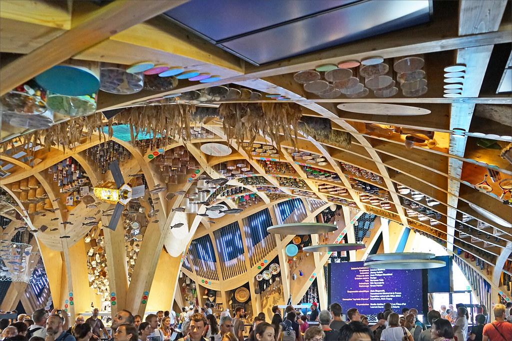 Expo Milan Les Stands : Le pavillon de la france expo milan l intérieur