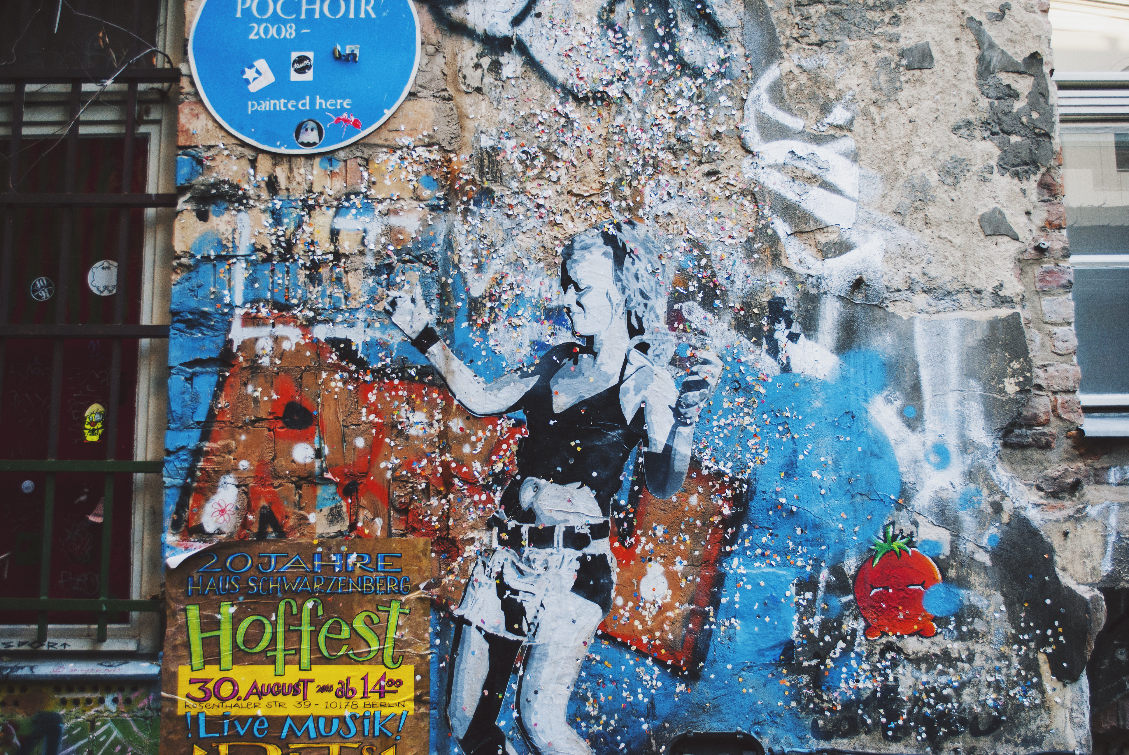 Berlin Travel Diary Street Art Graffiti Cafe Cinema