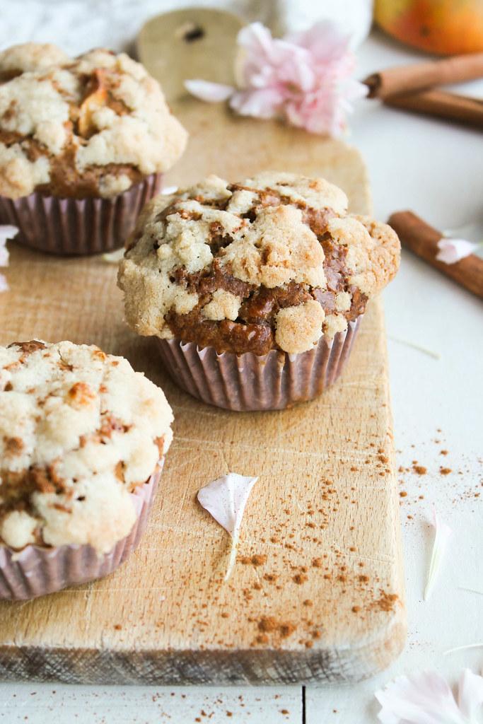 Recette de muffins aux pommes