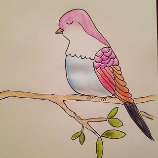 11/31 Birdy #inktober #inktober2016