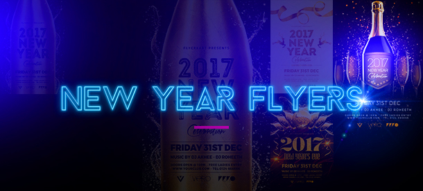 New Year Party Flyer - 2