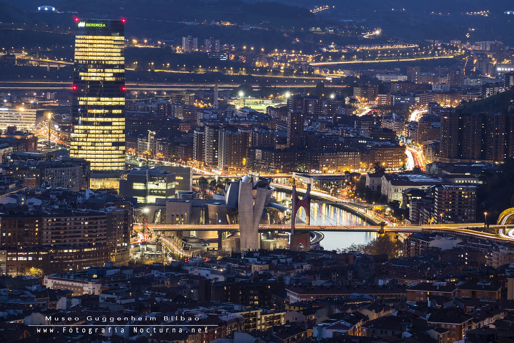 Bilbao en hora azul