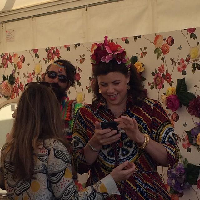 Kirstie Allsopp at the Handmade Fair September 2015