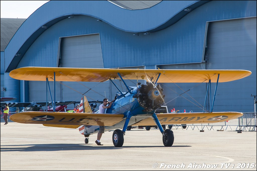 Stearman F-AZCK & Ryan PT-22 ,Feria de l'air nimes garons 2016, Meeting Aerien 2015