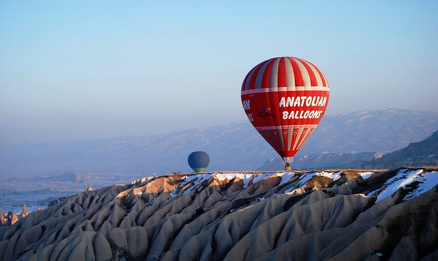 Turkey Balloon………………………Rock Sites Cappadocia with Balloon