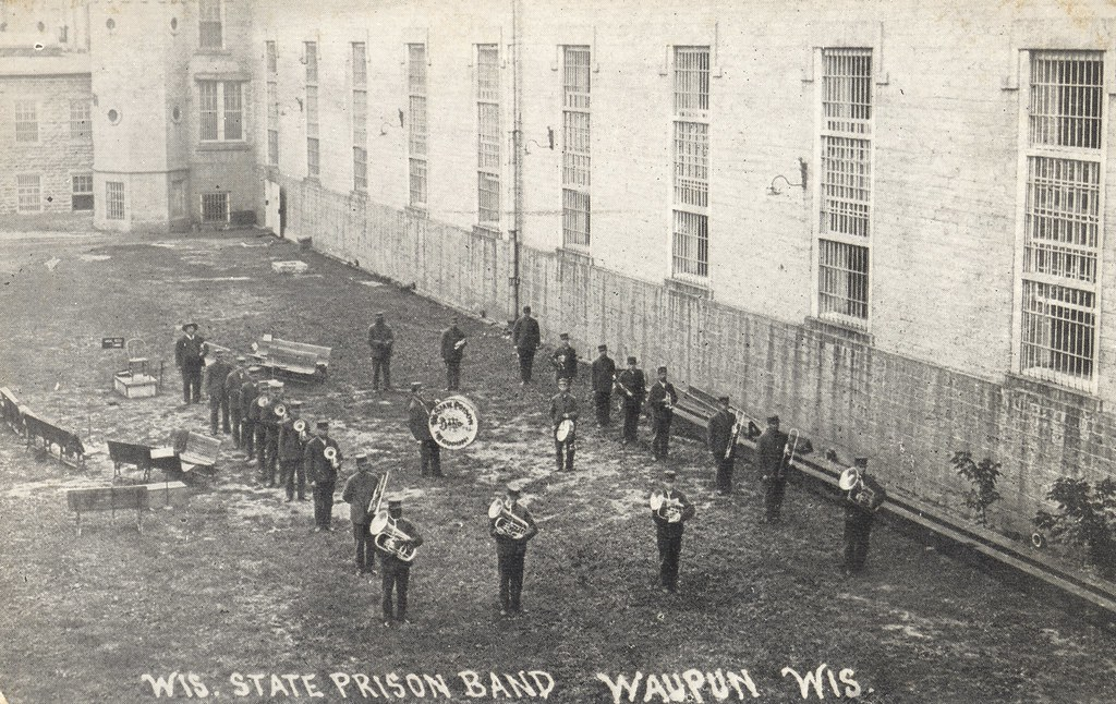 Wisconsin State Prison Band Waupun Wisconsin Mailed
