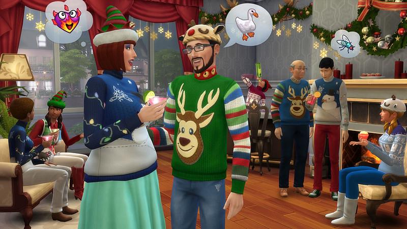 Albero Di Natale The Sims 3.Thesims4 It Community Italiana Dedicata A The Sims 4