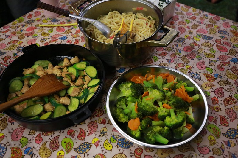 簡單的晚餐