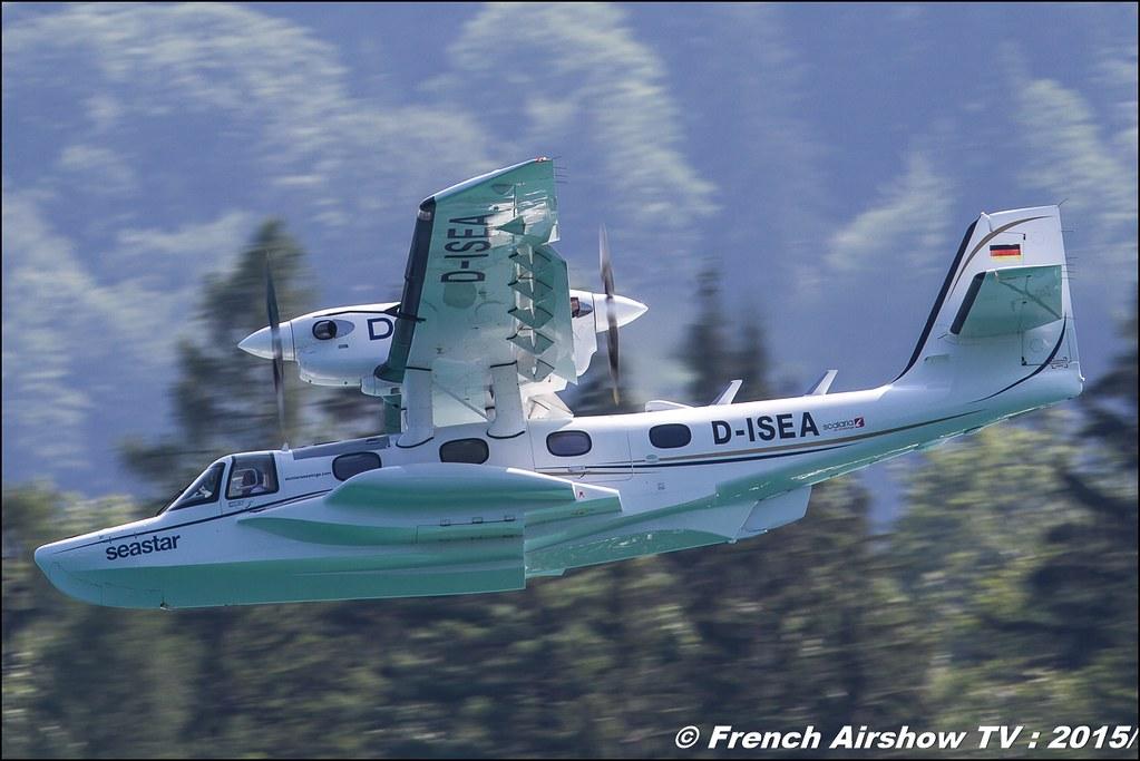Dornier Seastar ,D- ISEA , Dornier Seastar Aircaft , Dornier Seastar Amphibious Aircraft , Sankt Wolfgang / St Wolfgang : Austria , scalaria air challenge 2015, Meeting Aerien 2015