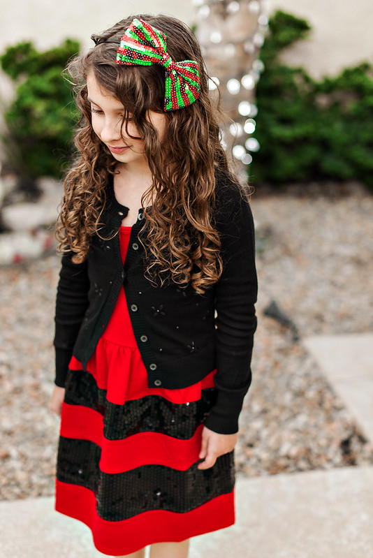 christmas party dress for tween