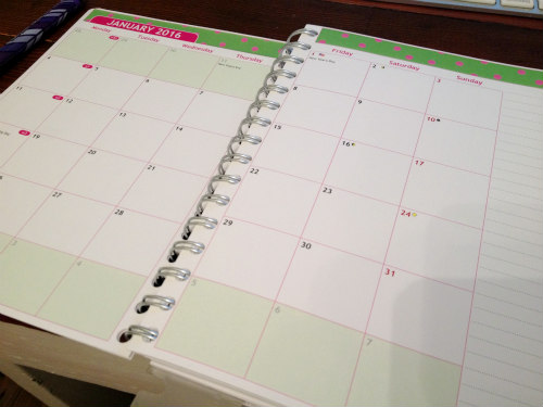 how to use a daily planner