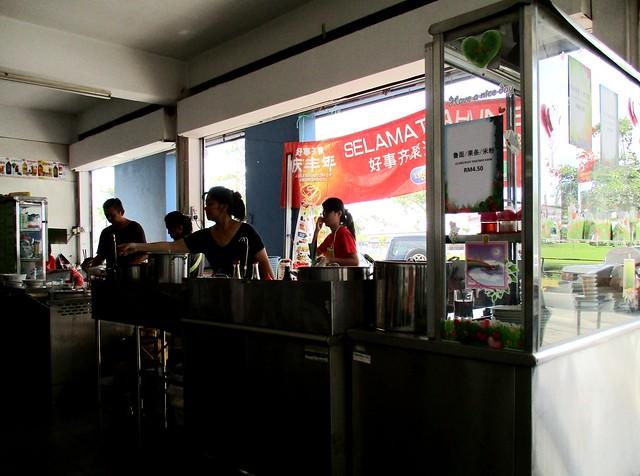 Twin Corner stall