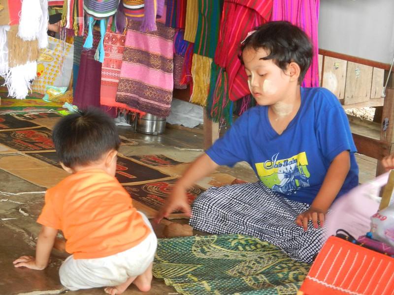 Жители Инле, Мьянма