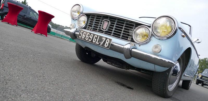 F.I.A.T. Cabriolet 1600S / O.S.C.A. 1964 - Autodrome Linas Montlhéry France Oct 2016 29933257230_c7a8b453a6_c