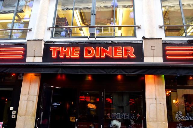 The Diner, Soho | www.rachelphipps.com @rachelphipps