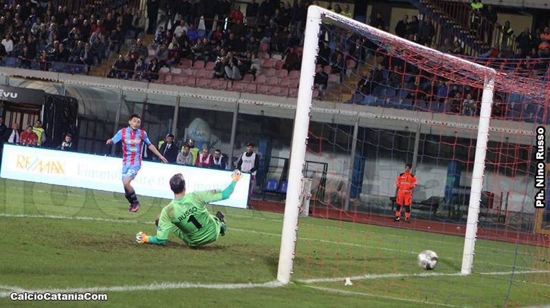 Il gol di Andrea Mazzarani che ha deciso la gara di andata