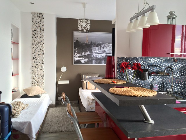 【巴黎住宿推薦】首次Airbnb民宿體驗, 浪漫巴黎小公寓住宿