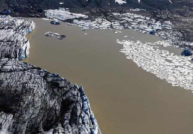 Graenalon Lagoon en Islandia