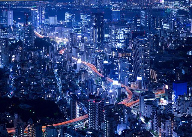 Tokio visto desde el mirador de la Torre Mori