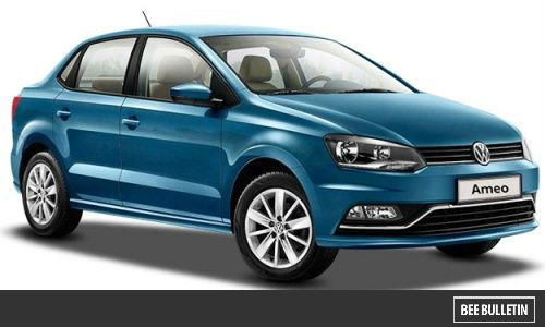 Upcoming Cars In India 2017, Budget Cars in India - Volkswagen Ameo Diesel