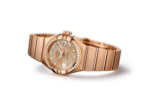 New Omega Constellation coaxial 27 mm female form