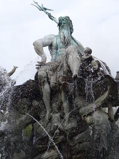 Fuente de Neptuno en Berlín