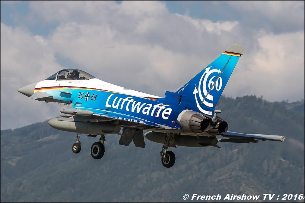 Eurofighter Tyhoon ,airpower zeltweg 2016 , AIRPOWER16 - Österreichs Airshow , Steiermark , Austria, Canon Reflex , EOS System