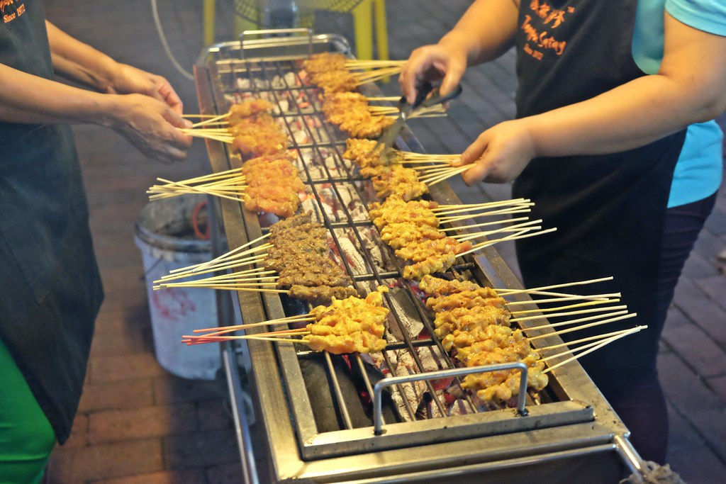 Cedar Point Food Centre: Tampoi Satay
