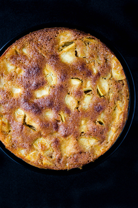 Easy French Apple Cake | cookingalamel.com