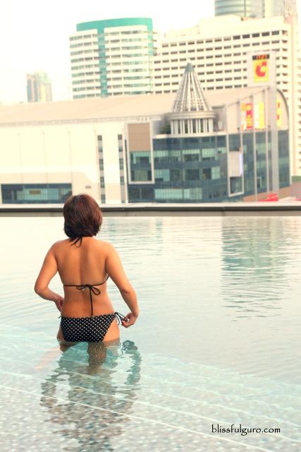 Novotel Bangkok Platinum Pratunam Thailand Infinity Pool