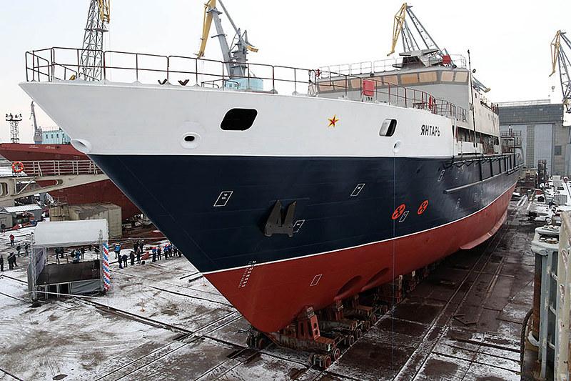 Исследовательское судно Янтарь