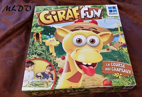 jeu de société Giraf'fun