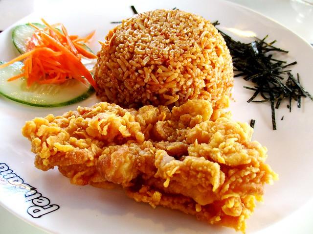 Pelicana kimchi fried rice