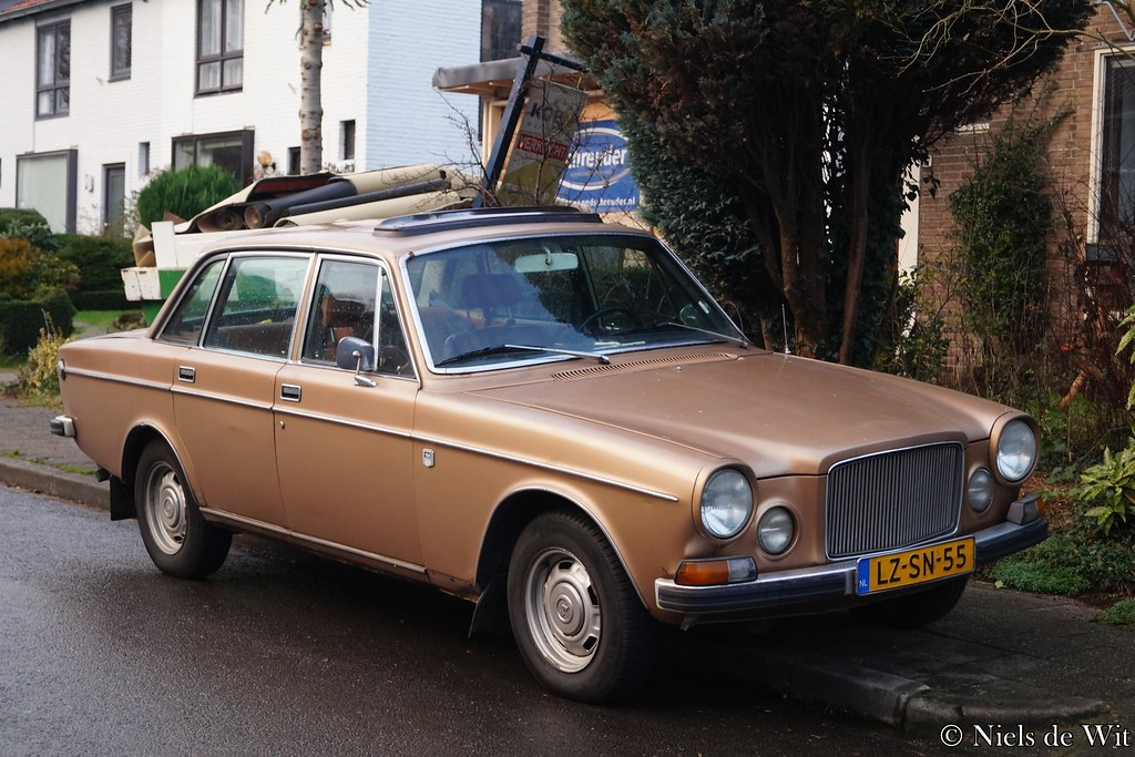 1973 Volvo 164 E Lz Sn 55 Middelberglaan Ede Niels De