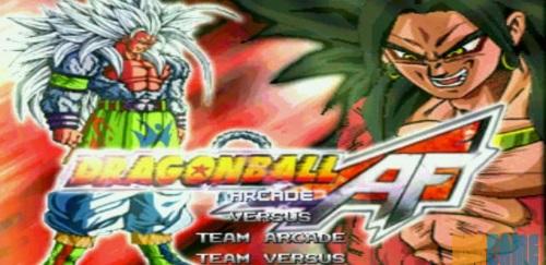 Dragon Ball Z AF mugen home