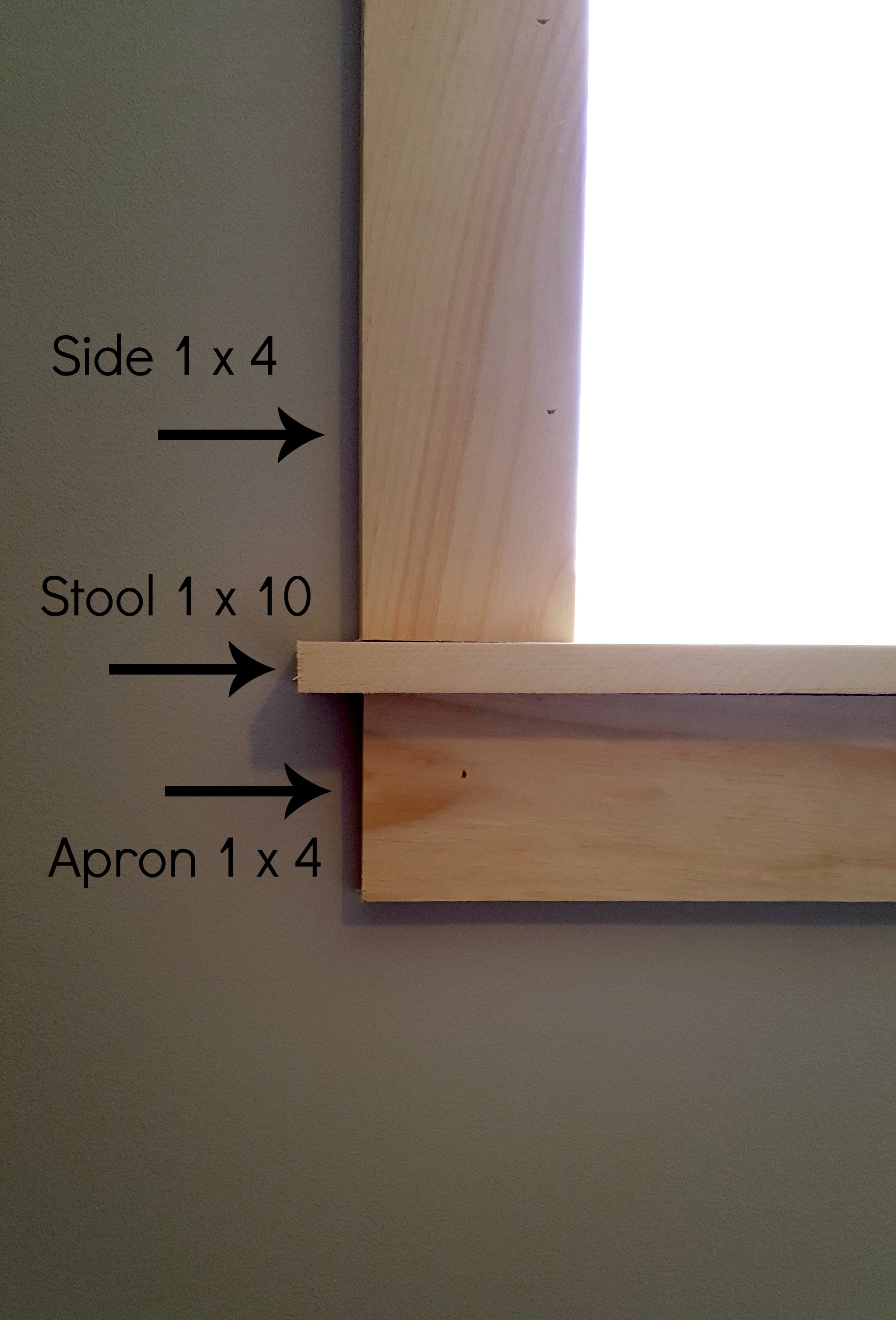Craftsman-style Window Trim