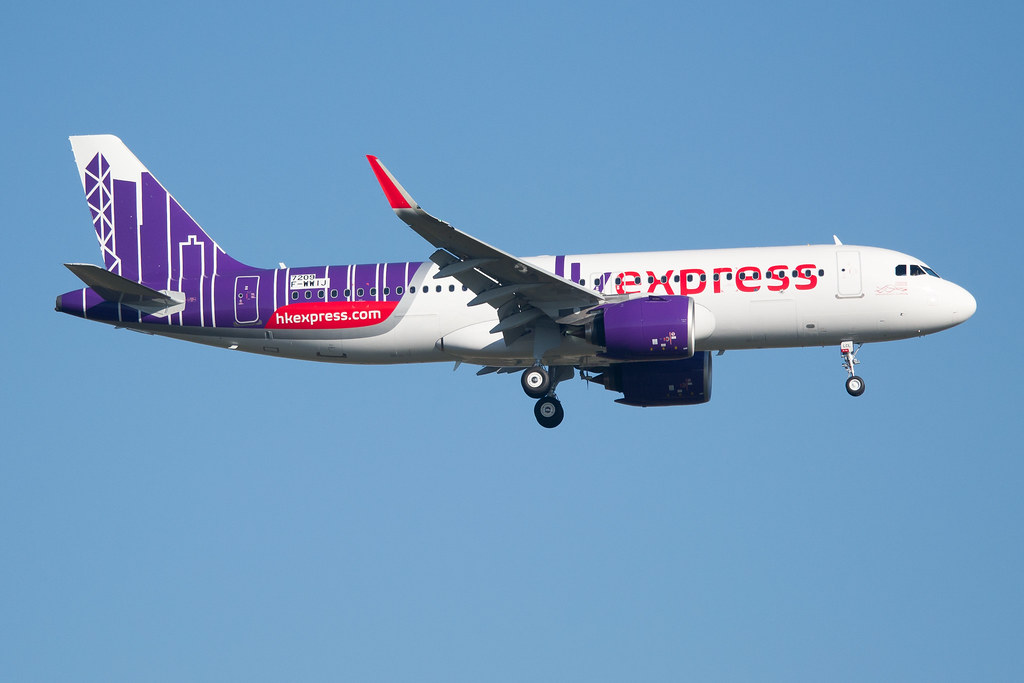 F-WWIJ / B-LCL - Airbus A320-271 NEO - Hong Kong Express -…   Flickr
