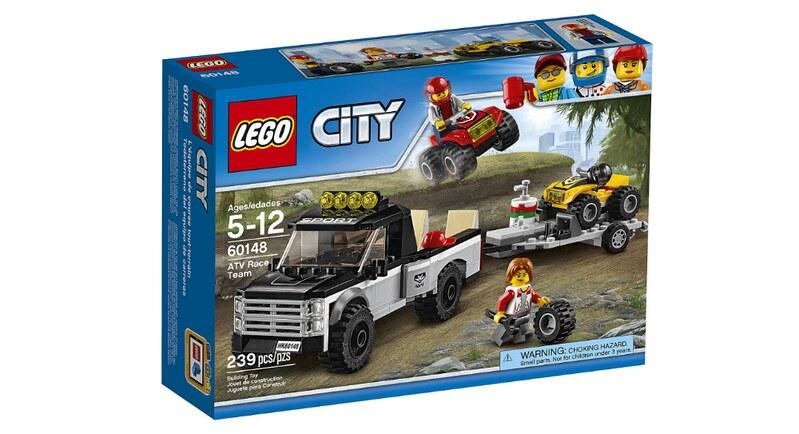 LEGO City ATV Race Team (60148)