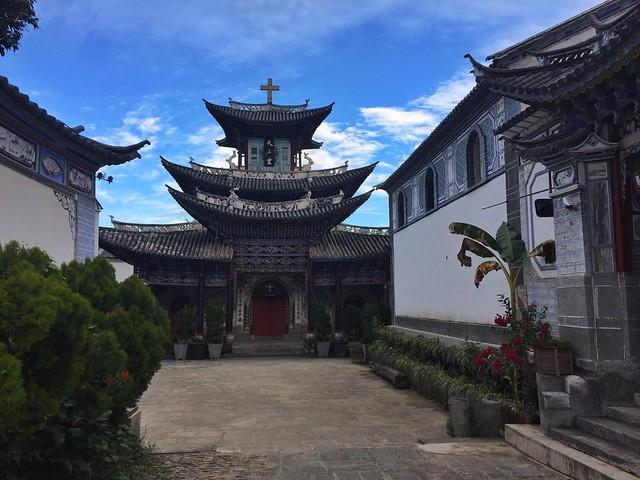 Iglesia católica de Dali (Yunnan, China)