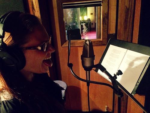 Caitlin Tracking ELO Vocals at Soul Haven (Nov 30 2015) (2)