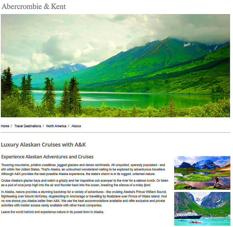 AK Features Some Excellent Alaskan Vacations