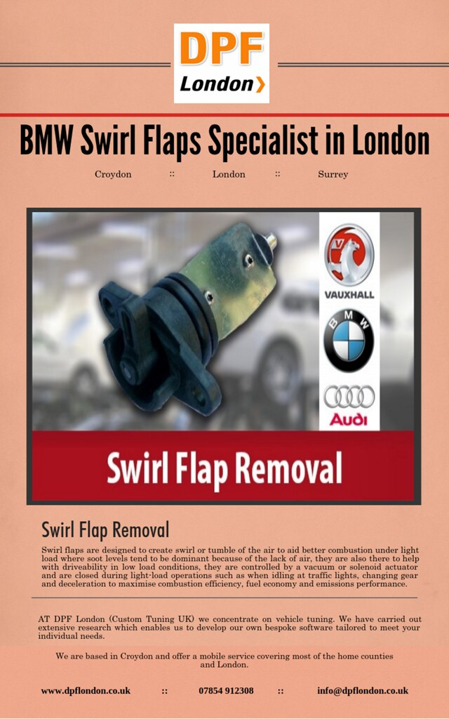 BMW Swirl Flaps Specialist in London