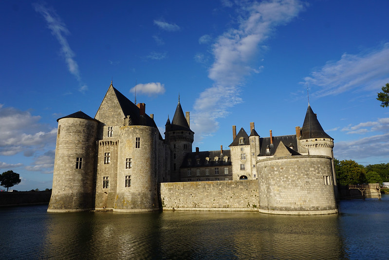 Ancient castle at Sully-sur-Loire