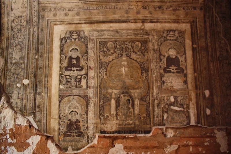 Фрески. Мьянма, Баган