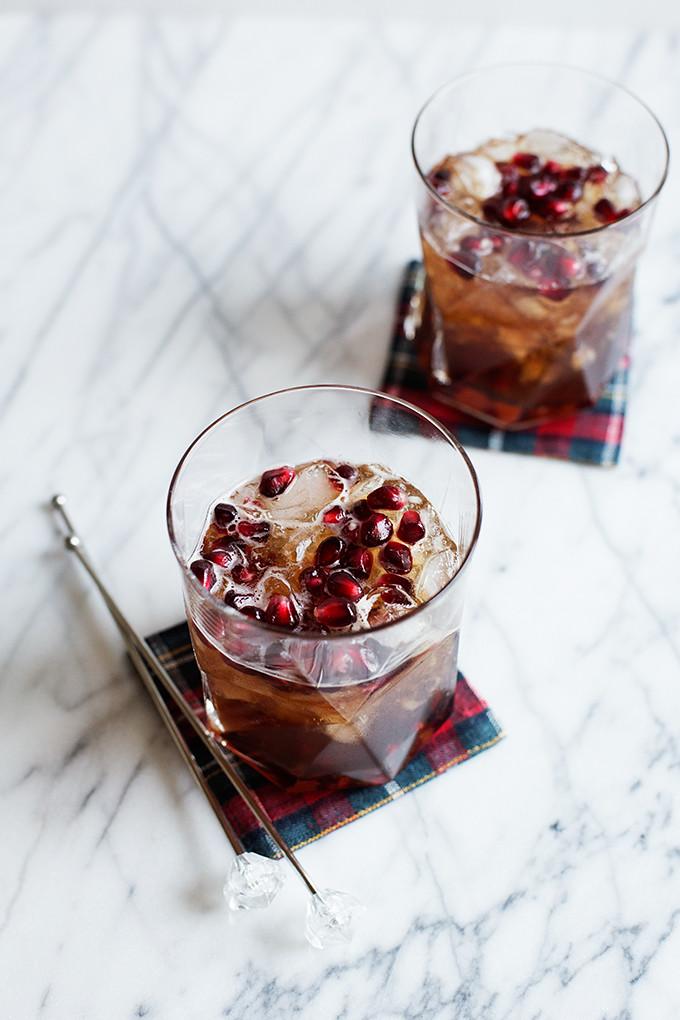 Pomegranate Ginger Spritzer by @cindyr