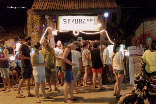 Sakura Bar Vang Vieng Laos